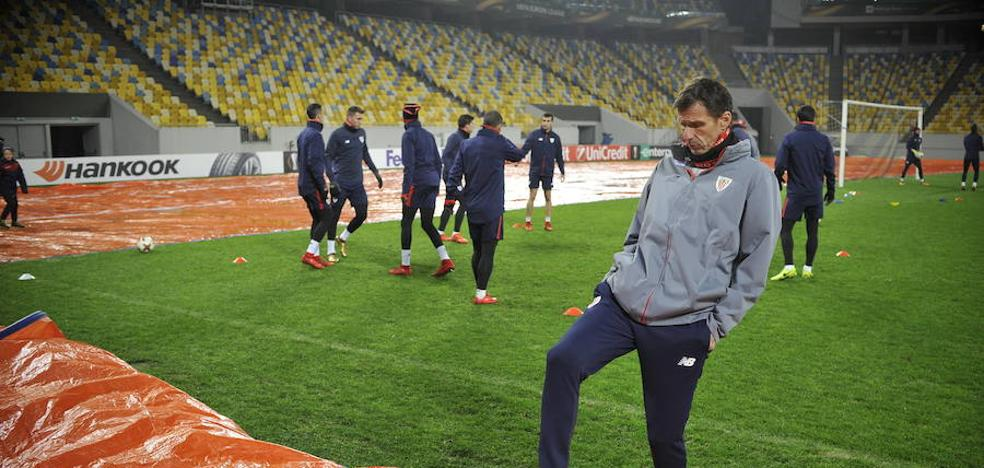 Athletic: examen final en el Arena de Lviv