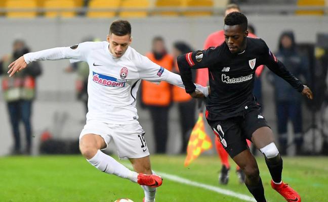 Zorya - Athletic, en directo: Europa League 2017/2018, online