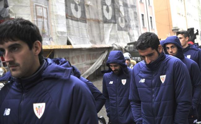 El estado del césped de Lviv inquieta al Athletic