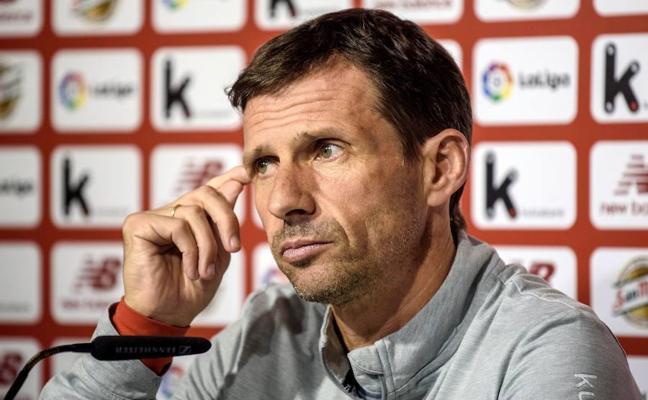 Ziganda: «Ante el Levante sólo pensamos en jugar bien y ganar»