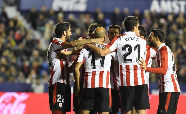 Las mejores imágenes del Levante - Athletic de la Liga Santander
