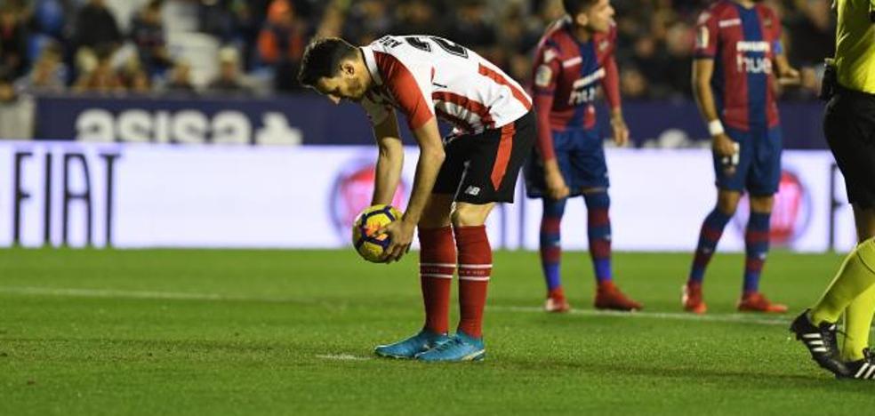 Aduriz se convierte en el jugador más veterano en marcar en Liga en la historia del Athletic