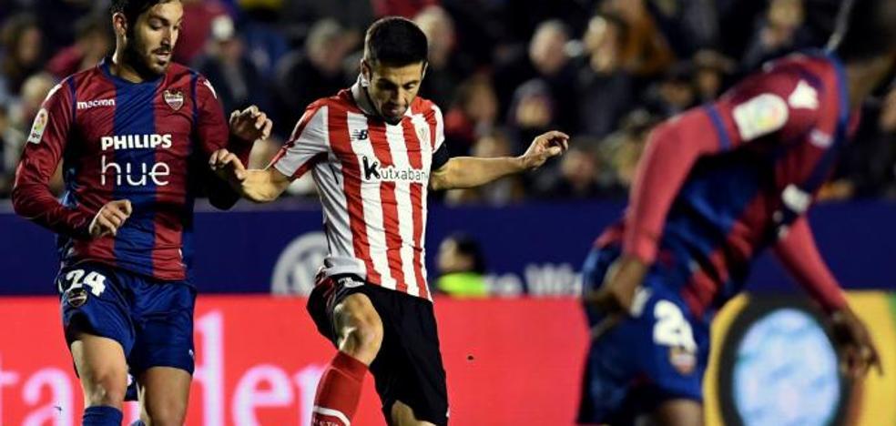 Levante - Athletic en directo: Liga Santander 2017-18, online