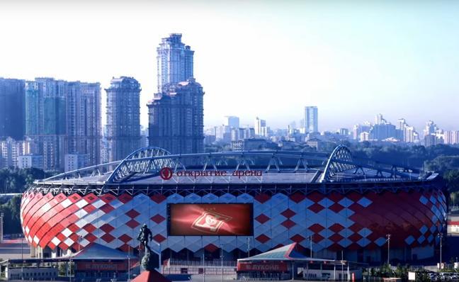 Así es el Otkrytie Arena, el estadio del Spartak de Moscú