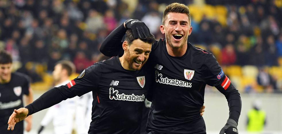 El Athletic se medirá al Spartak y al frío de Moscú en la Europa League