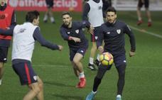El Athletic vuelve al trabajo sin Kepa, Balenziaga y De Marcos