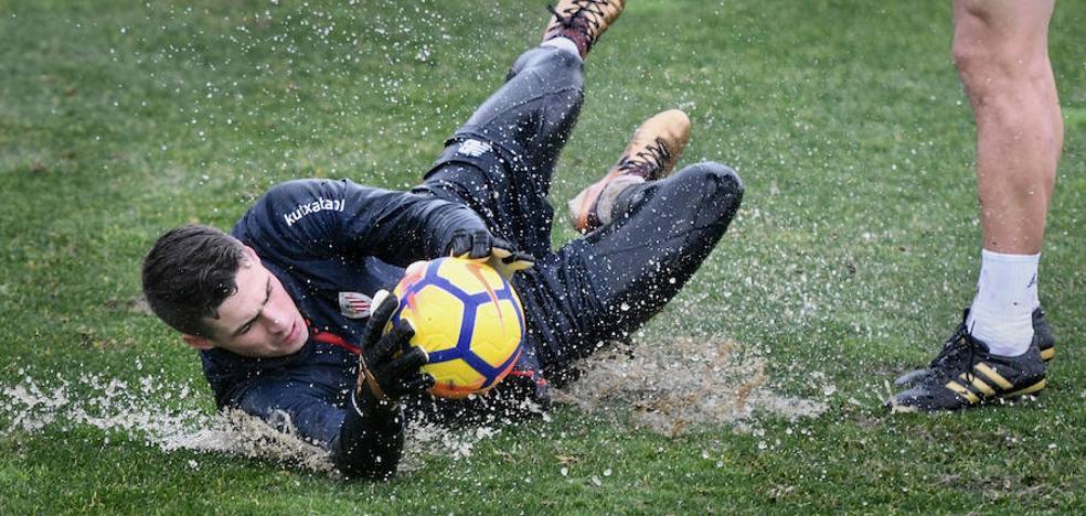 El Athletic evita el contacto de Kepa con la afición