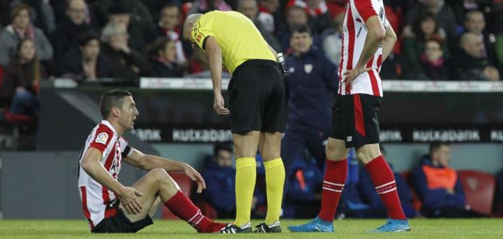 De Marcos se lesiona y es duda ante el Espanyol