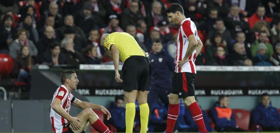 De Marcos se pierde, al menos, el duelo ante el Espanyol