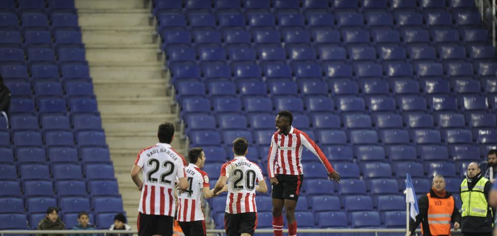 Williams marca su cuarto gol en Liga tras casi dos meses de sequía