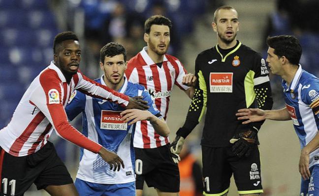 El Athletic, en la mitad de la tabla y a cuatro puntos de Europa