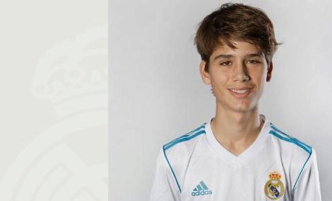 El hijo de Julen Guerrero ya es jugador del Real Madrid