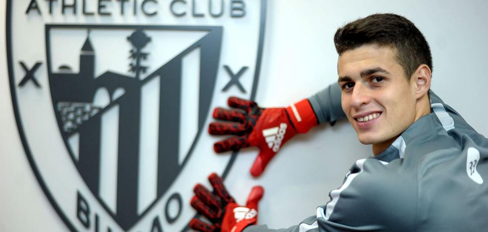 Los momentos clave de la renovación de Kepa por el Athletic