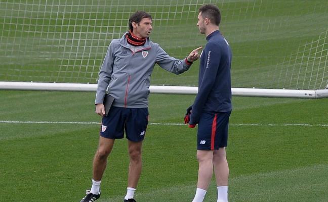 Laporte entrena hoy con el Athletic a la espera de que pague el City