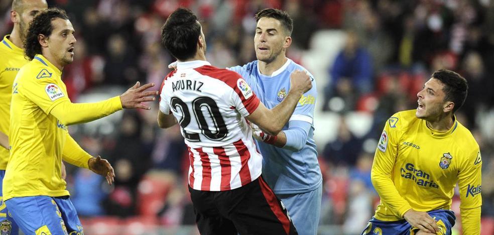 Aduriz y Raúl García, bajas contra el Atlético