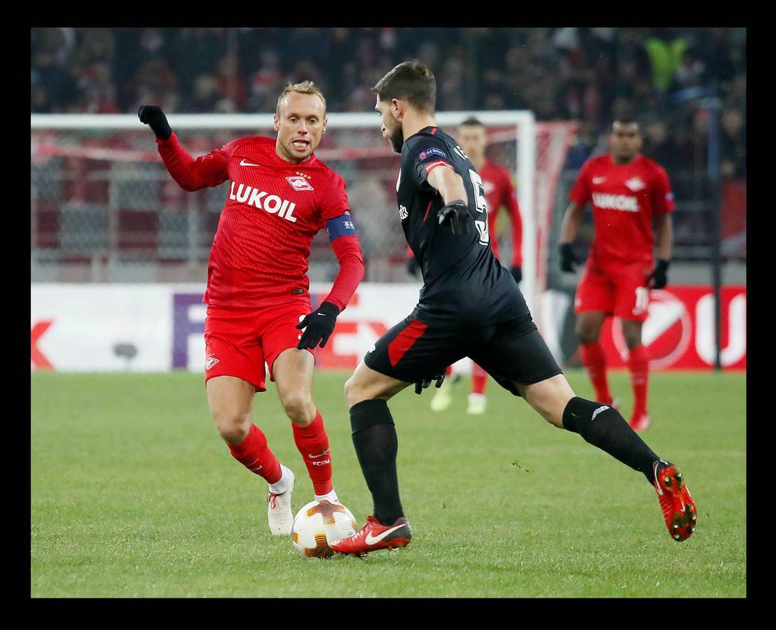 Las mejores imágenes del Spartak - Athletic