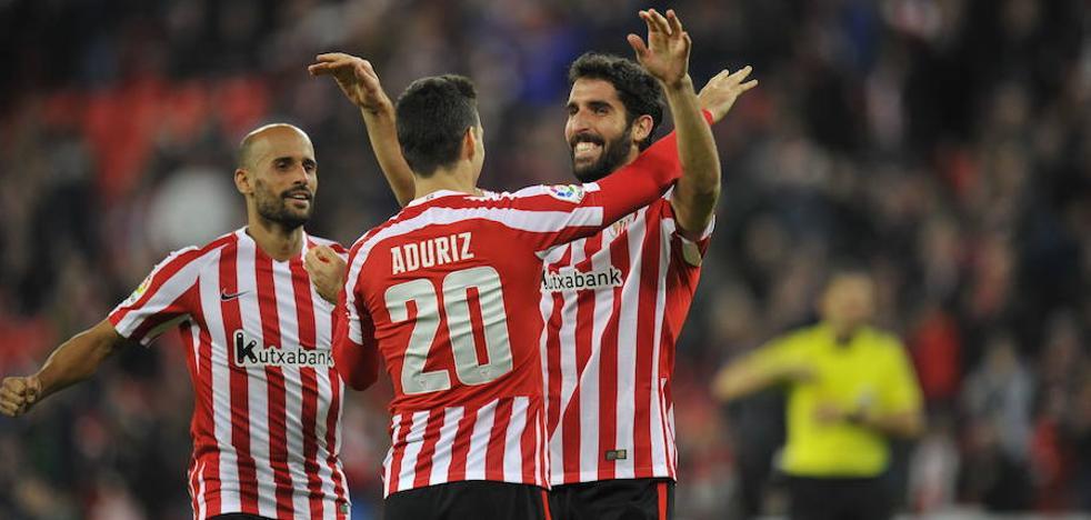 El Athletic sabe lo que es ganar sin Aduriz y Raúl García