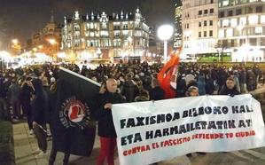 Seis hinchas rusos agreden a un hombre en el centro de Bilbao