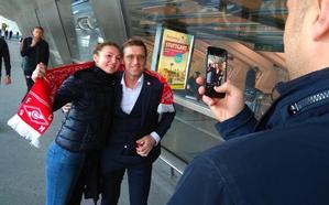 El Spartak aterriza en Loiu sin la presencia de ultras