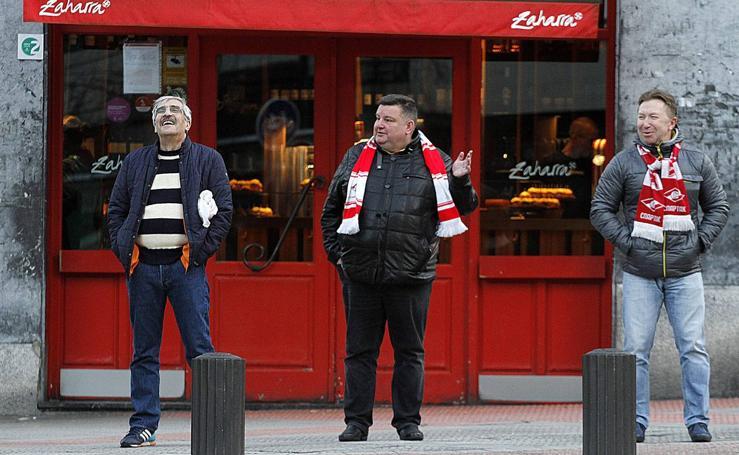 Athletic - Spartak: ambiente previo al partido