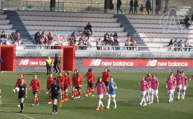 El Athletic femenino cae en casa contra el Madrid CFF