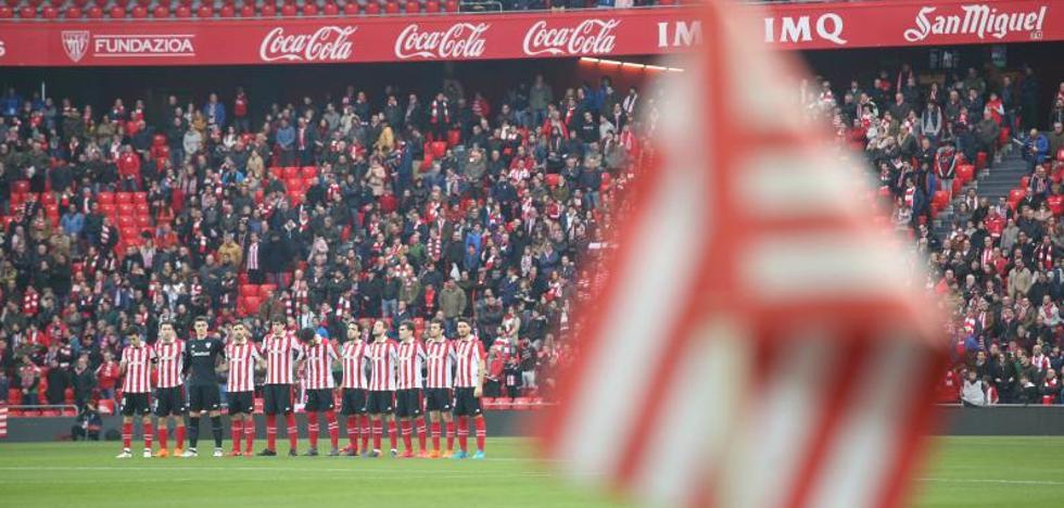 Pitada como repulsa hacia los radicales del Athletic tras el minuto de silencio