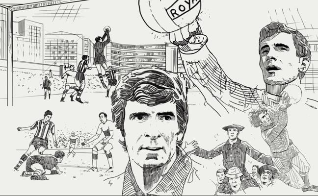 75 años de Iribar, el mítico portero del Athletic