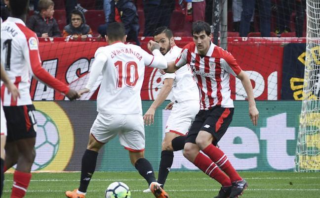 Sevilla - Athletic en directo: LaLiga 2017-18, online