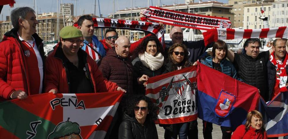 El miedo a la violencia ultra resta aficionados al Athletic en Marsella