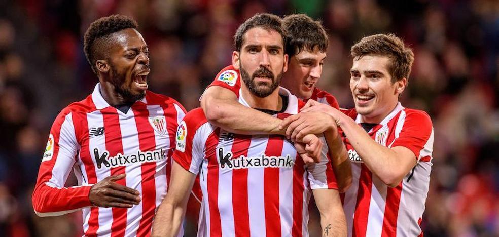 Cuarto doblete de Raúl García con el Athletic