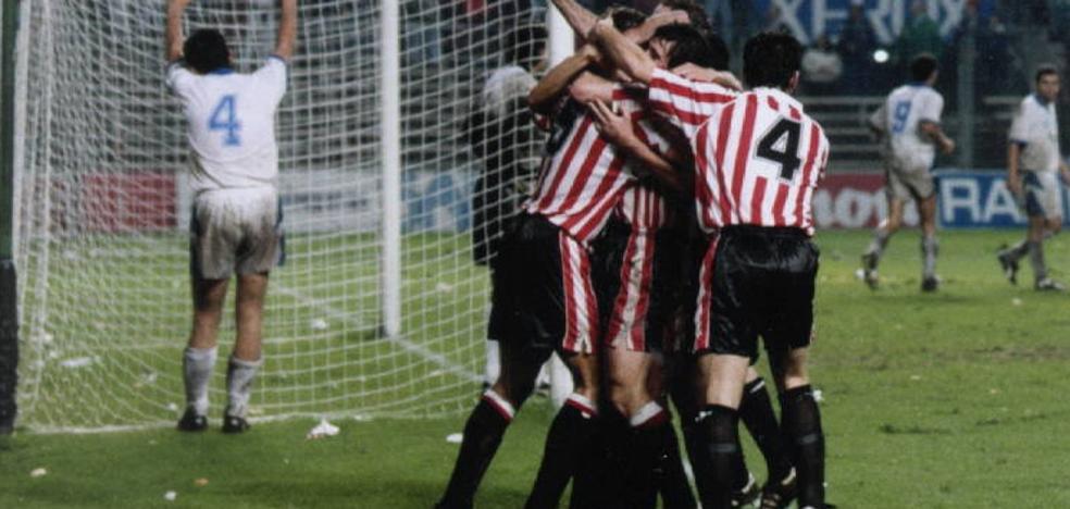 El Athletic ya ha remontado dos goles en Europa