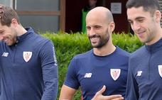 Mikel Rico, en condiciones para el jueves; Balenziaga es duda