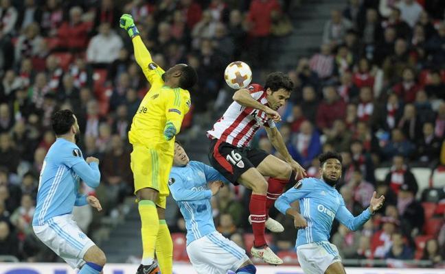 Athletic-Marsella, en directo