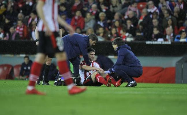 Yeray y Mikel Rico, lesionados