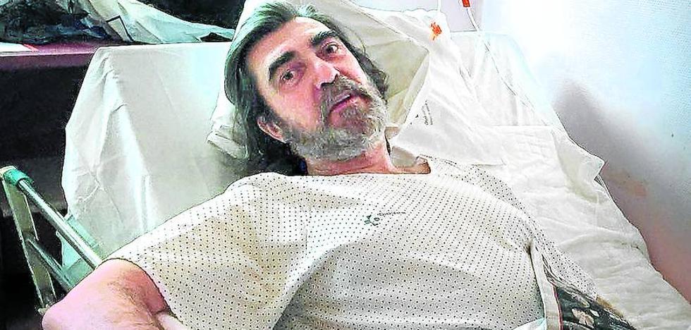 Recibe el alta el vigilante herido por los ultras franceses