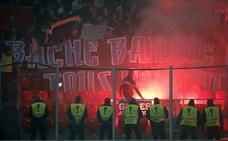 La UEFA abre expediente disciplinario al Marsella por los incidentes en San Mamés
