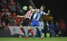 Aduriz entra en el intermedio e iguala a Zarra con 278 partidos en Liga