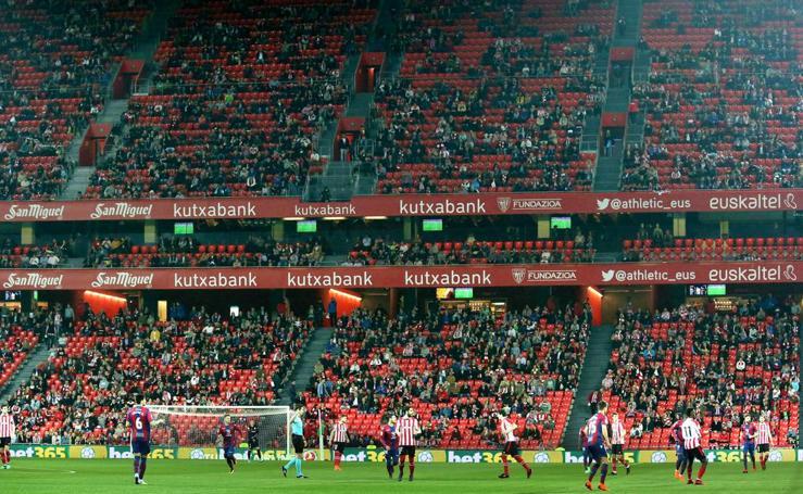 Las imágenes del Athletic - Levante
