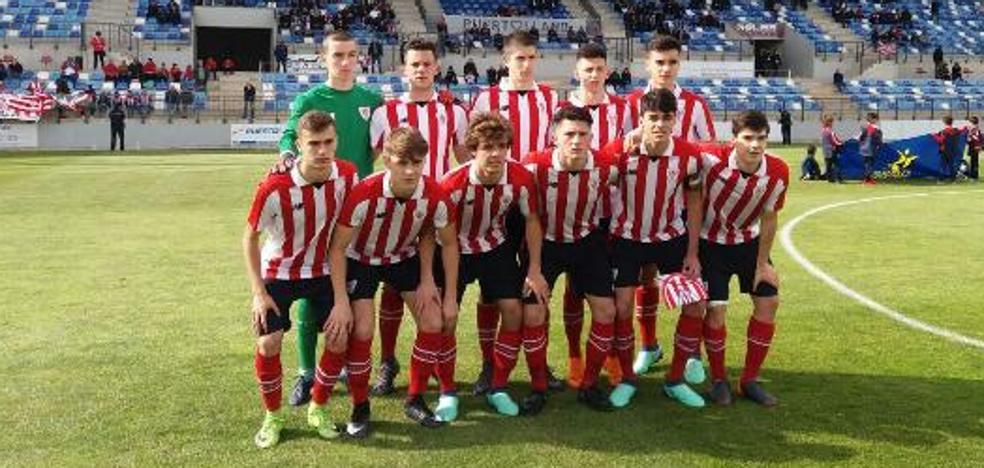 Triste final del Athletic juvenil en la Copa de Campeones