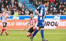 Ibai Gómez marca ante el Athletic y no lo celebra