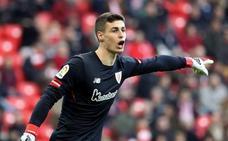 Grave error de Kepa en el gol del Alavés