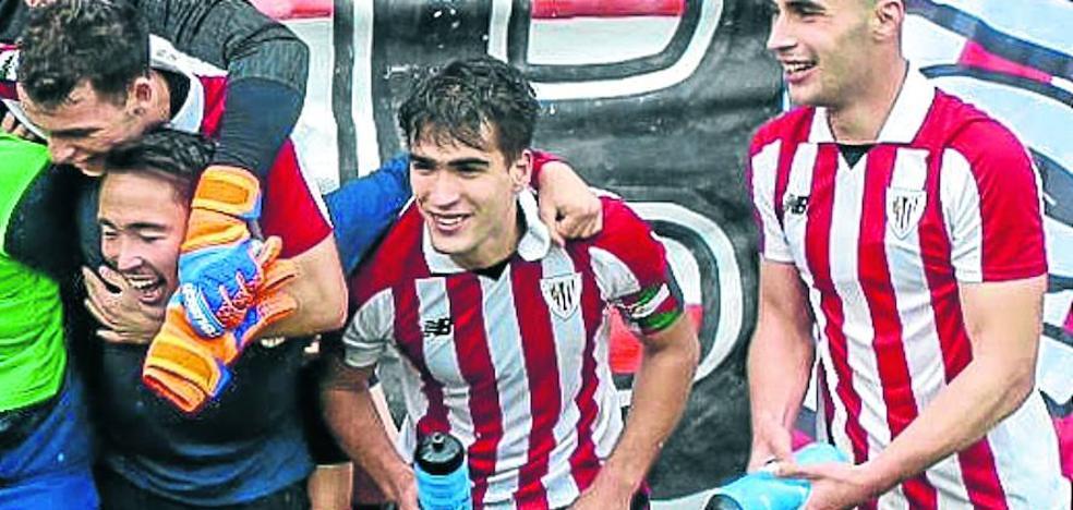 Undabarrena, capitán del Bilbao Athletic, queda libre el 30 de junio