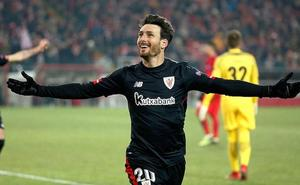 Aduriz, máximo goleador de la Liga Europa por segunda vez
