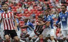 El Athletic - Espanyol, en imágenes