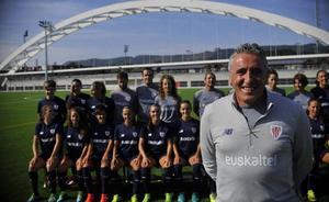Agirre espera que el Athletic femenino dé la «sorpresa» y logre el pase a la final de la Copa de la Reina