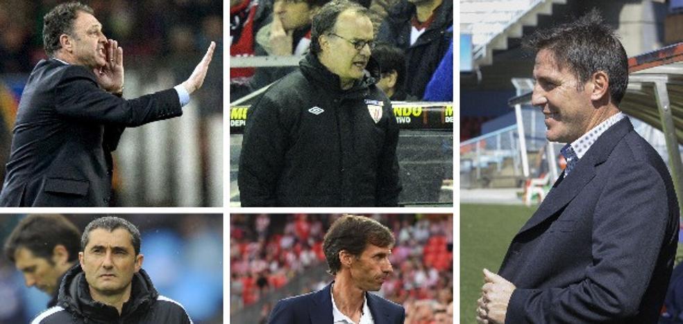 Berizzo: el quinto técnico en una década al frente del Athletic