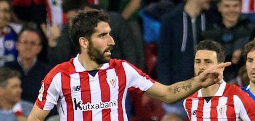 Raúl García prolonga su contrato con el Athletic hasta 2020