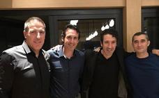 Berizzo comparte la mesa de Eneko Atxa con Valverde y Emery