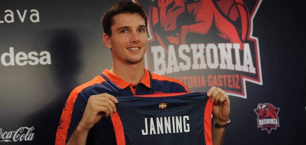 Janning: «Sería una gran noticia quedarme todo el año en el Baskonia»