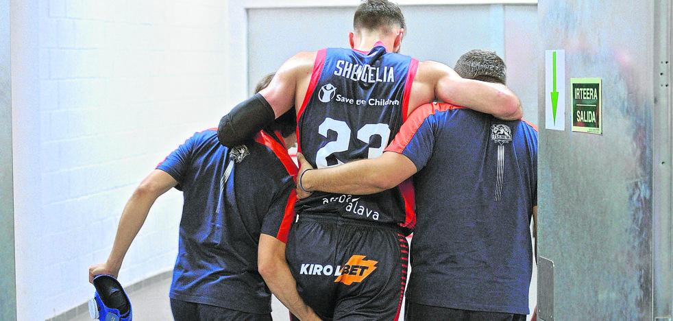 El baskonismo reza por Shengelia